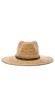 Brixton Leo Fedora in Light Tan