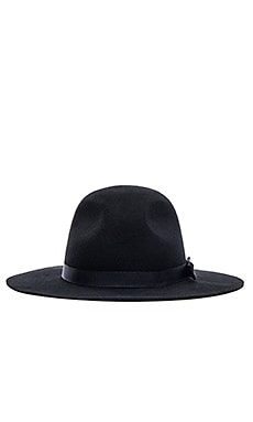 Brixton Dalila Hat in Black & Black