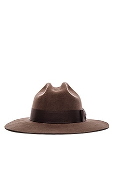Brixton Tara Fedora in Chocolate