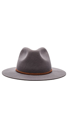 Brixton Wesley Fedora in Light Grey