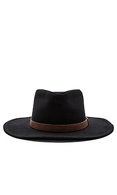 Thorpe Fedora in Black & Brown