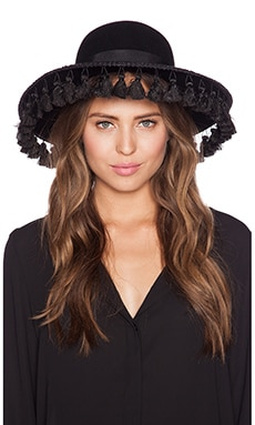 Brixton Sophia Hat in Black