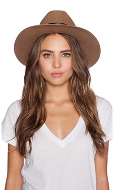 Brixton Tara Fedora in Tan