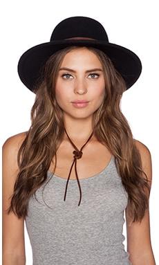 Brixton Clay Top Hat in Black & Tan