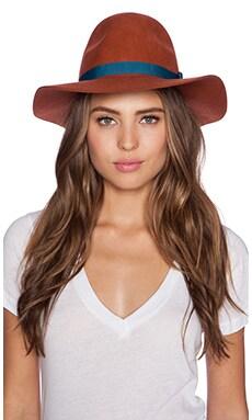 Brixton Dalila Hat in Coral
