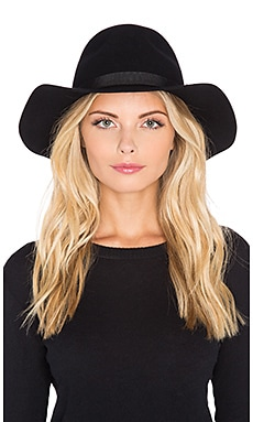 Brixton Dalila Hat in Black