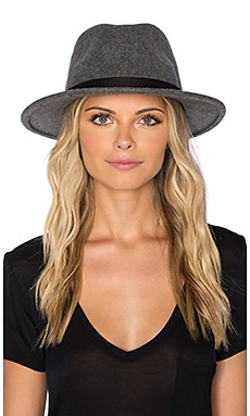 Messer Fedora in Heather Grey