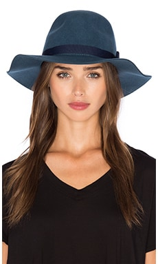 Brixton Dalila Hat in Blue