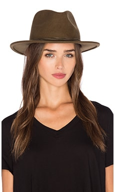 Corbet Fedora in Light Olive