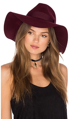 Brixton Piper Hat in Wine