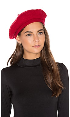 Brixton Audrey Beret in Red
