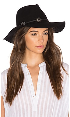 Cedar Fedora in Black