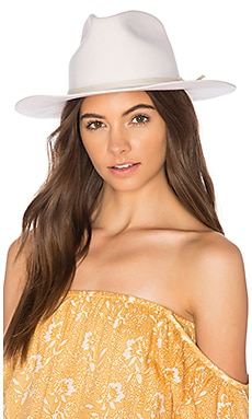 Amarillo Fedora in Ivory
