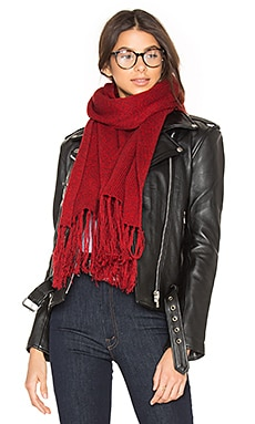 Elias Scarf in Red & Burgundy