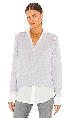V-Neck Layered Pullover Brochu Walker $378
