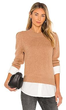 Eton Layered Crew Looker Sweater Brochu Walker $398 BEST SELLER