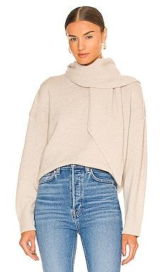 Rhea Pullover Scarf Neck Sweater Brochu Walker $488