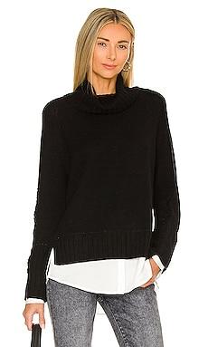 Jolie Fringe Layered Looker Sweater Brochu Walker $428 NEW