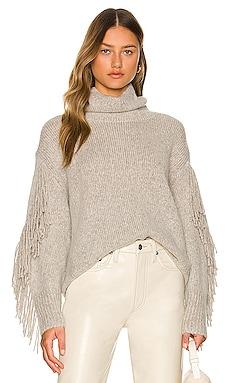 Deaville Fringe Pullover Sweater Brochu Walker $598 NEW