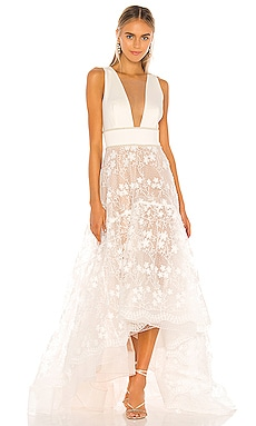 Fiona Bridal Gown Bronx and Banco $780