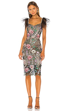Melia Midi Dress Bronx and Banco $414