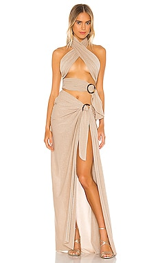 X REVOLVE Cleopatra Dress Bronx and Banco $525