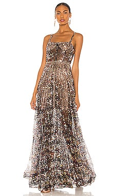 Midnight Noir Gown Bronx and Banco $1,100