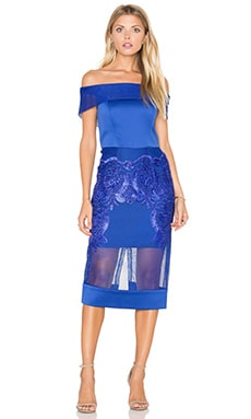 Bronx and Banco Piada Cobalt Dress in Blue