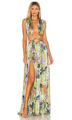 Tropics Maxi Dress Bronx and Banco $890