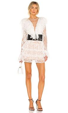 Rebecca Blanc Mini Dress Bronx and Banco $450