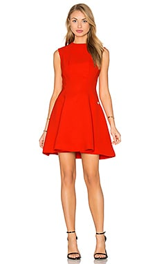 Bronx and Banco Viola Dress in Red