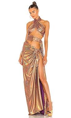X REVOLVE Cleopatra Neon Dress Bronx and Banco $680