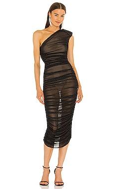 Maya One Shoulder Midi Dress Bronx and Banco $526