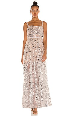 Midnight Gown Bronx and Banco $1,100 NEW