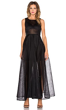 Bronx and Banco Babylon Maxi Dress in Black