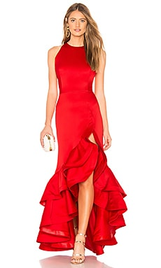 Frida Flame Gown Bronx and Banco $484 BEST SELLER