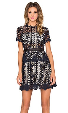 Bronx and Banco Positano Dress in Navy