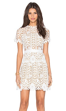 Bronx and Banco Positano Dress in White