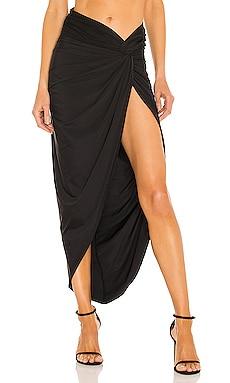 X REVOLVE Cleo Skirt Bronx and Banco $350