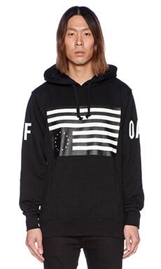 Black Scale x JT&CO Rebel Radical Pullover Fleece in Black