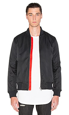 Black Scale Lewis Jacket in Black