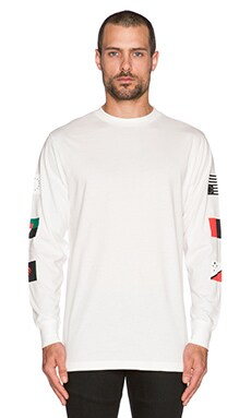 Black Scale Pandemic Tee in White
