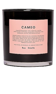 Cameo Scented Candle Boy Smells $32