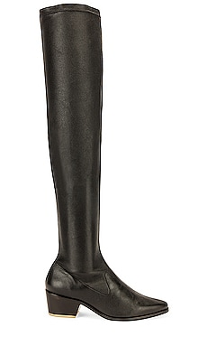 Amy Boot Black Suede Studio $620