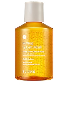 Patting Splash Mask Energy Yellow Citrus & Honey BLITHE $30 BEST SELLER