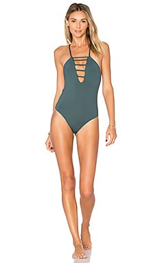 Strappy One Piece in Forest