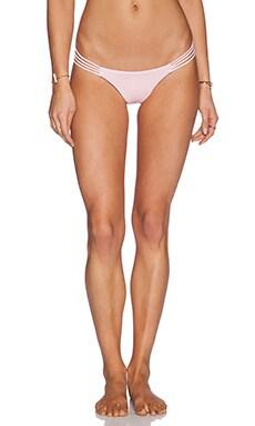Bettinis Smocked Heart Bikini Bottom in Pink