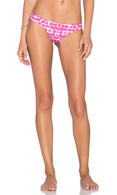 Bettinis Cheeky Bikini Bottom in Pink Static