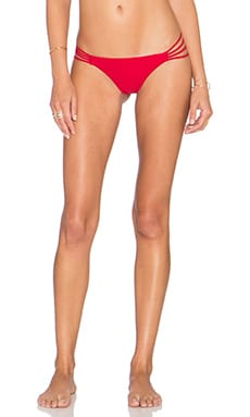 Bettinis Heart Bikini Bottom in Red