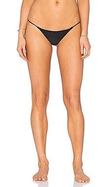Bettinis Minimal Bikini Bottom in Black